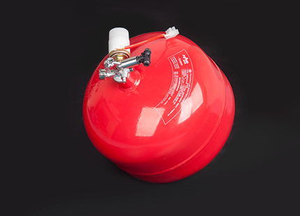 Hanging ultrafine powder automatic fire extinguishing device (storage type)